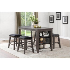 Timbre Transitional Counter Height Dining Room Set by Homelegance