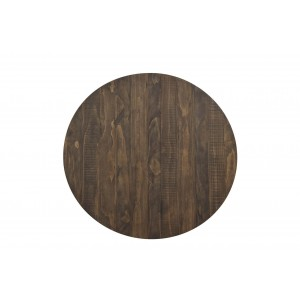 Chevre Rustic RoundWood Counter Height Table by Homelegance