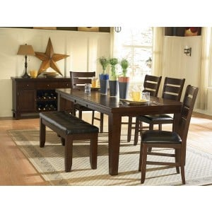 Ameillia Classic Rectangular Dining Room Set by Homelegance