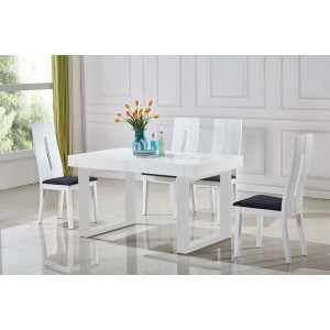 Laura Dining Table w/Extension by At Home USA