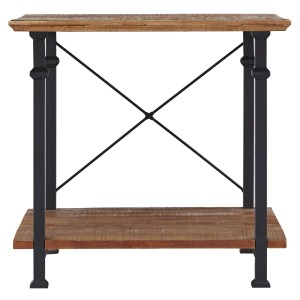Factory Wood End Table by Homelegance