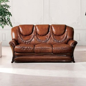 67 Leather Sofa Bed by ESF Furniture