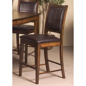 Verona Transitional Fabric/Wood Counter Dining Chair by Homelegance