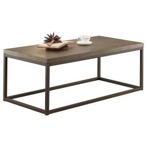 Daria Wood Veneer Coffee Table by Homelegance