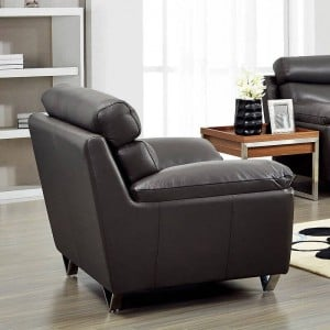 8049 Leather/Eco-Leather Chair by ESF Furniture