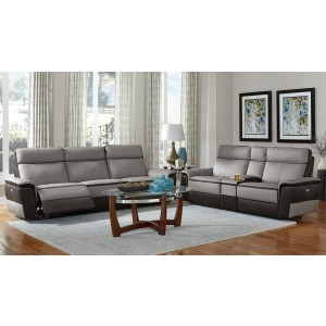 Laertes Leather Living Room Set by Homelegance