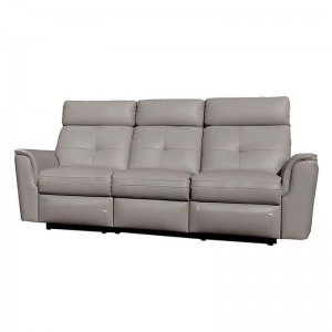 8501 Leather/Eco-Leather Sofa w/2 Recliners by ESF Furniture