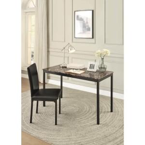 Tempe Metal Writing Desk w/Chair by Homelegance by Homelegance