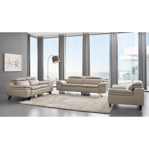 973 Leather/Eco-Leather Living Room Set by ESF Furniture