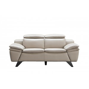 973 Leather/Eco-Leather Loveseat by ESF Furniture