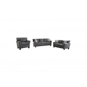 Alain Fabric Living Room Set by Homelegance
