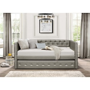 Trill Bi-Cast Vinyl Daybed by Homelegance