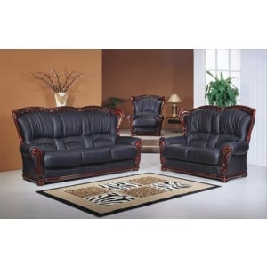 A39 Half Leather Living Room Set by ESF Furniture