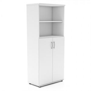 Standard Tall Office Half Bookcase Unit w/Door by MDD Office Furniture