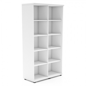 Standard 5OH Tall Office Bookcase Unit by MDD Office Furniture