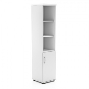 Standard Tall Office Half Bookcase Unit w/Door by MDD Office Furniture