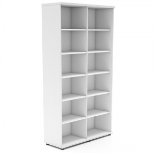 Standard 6OH Tall Office Bookcase Unit by MDD Office Furniture