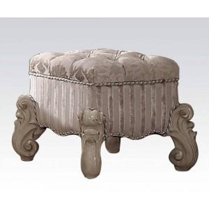 Versailles Vanity Stool, White by Acme Furniture
