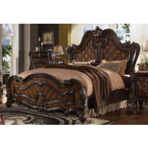 Versailles Queen Size Bed, Cherry Oak by Acme Furniture