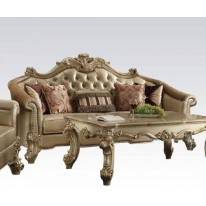 Vendome II Sofa, Gold Patina by ACME