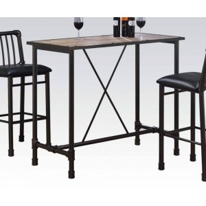 Caitlin Metal/Wood Counter Table by ACME