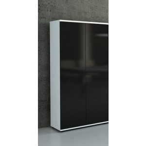 Gloss 5OH Tall Office Storage Unit by MDD Office Furniture