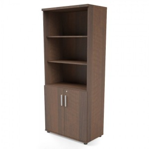 Quando 5OH Tall Office Half Bookcase by MDD Office Furniture