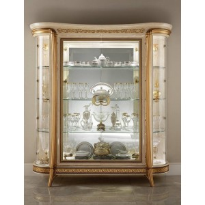 Melodia Classic 4-Door Cabinet by ESF Furniture
