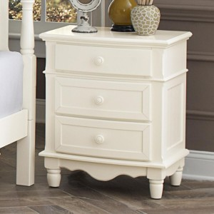 Clementine Wood Nightstand by Homelegance