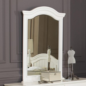 Clementine Small Wood Mirror by Homelegance