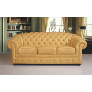 B285 Full Leather Sofa by ESF Furniture