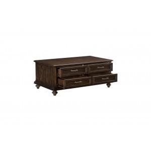 Cardano Wood Coffee Table by Homelegance