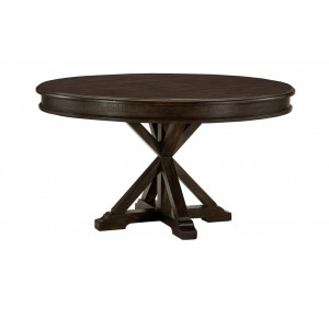 Cardano Round Wood Dining Set by Homelegance