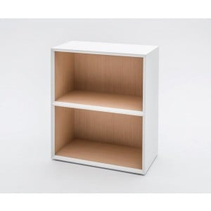 Gravity 2OH Low Office Bookcase by MDD Office Furniture