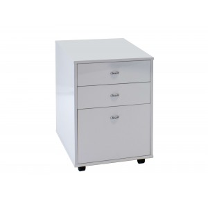 Bali Wood 3-Drawer File Cabinet by Sharelle Furnishings