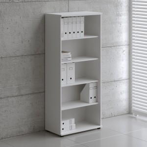 Basic 5OH Tall Office Bookcase by MDD Office Furniture