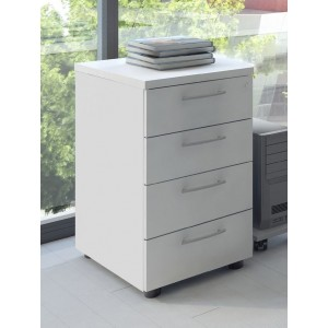 Basic Stationary Pedestal w/4 Drawer by MDD Office Furniture