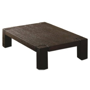 Becks Coffee Table, Wenge by Beverly Hills Furniture