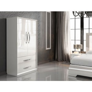 Carmen Bedroom Set, White by Franco Furniture