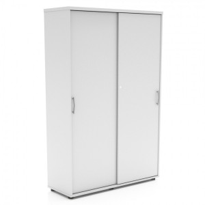 Standard 5OH Tall Office Storage Unit w/2 Sliding Doors, Height 72 1/8'' by MDD Office Furniture
