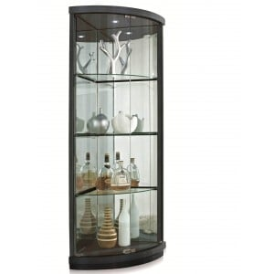 4321 Corner Curio by New Spec Furniture