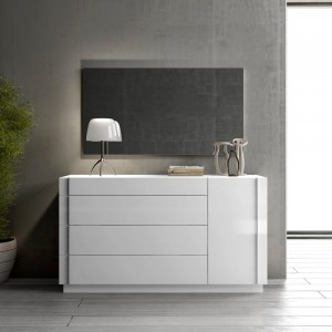 Amora Dresser + Mirror by J&M Furniture