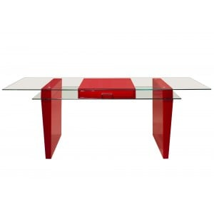 Crystal Lacquer Desk by Sharelle Furnishings