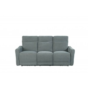 Edition Fabric Power Double Lay Flat Reclining Sofa by Homelegance