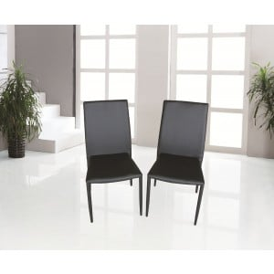 DC-13 Dining Chair, Black by J&M Furniture