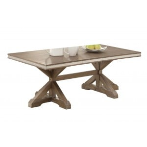 Beaugrand Wood Coffee Table by Homelegance