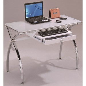02 Desk, White by New Spec Furniture