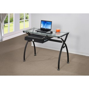 02 Desk, Black by New Spec Furniture