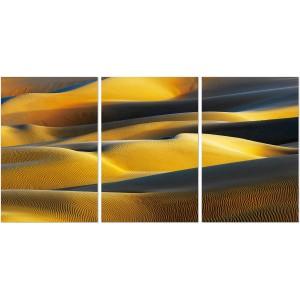 Premium Acrylic 3-Piece Wall Art Desert Sun-SH-72385ABC by J&M Furniture