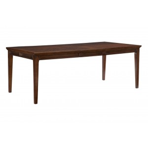 Frazier Park Rectangular Wood Extendable Dining Table by Homelegance